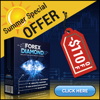 Forex Diamond EA -$110 OFF - Special Summer Offer