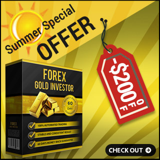 Forex GOLD Investor -$200 OFF - Special Summer Offer