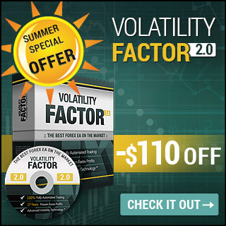 Volatility Factor 2.0 Pro -$110 OFF - Special Summer Offer